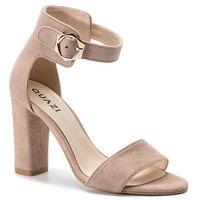 Sandały QUAZI - QZ-16-02-000139 221, kolor beżowy