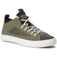 Converse Sneakersy - ctas ultra ox 161476c field surplus/black/egret