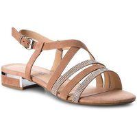 Sandały CAPRICE - 9-28110-20 Rose/Sand Sued 585, kolor brązowy