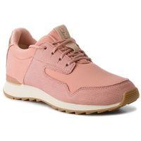 Sneakersy CLARKS - Floura Mix 261309644 Pink Combi, kolor różowy