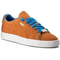 Sneakersy PUMA - Suede Classic 366293 01 Vibrant Orange, kolor pomarańczowy