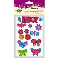 Naklejki TITANUM kwiatki motyle 307762 (5907437665633)