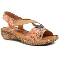 Sandały - 711076 camel 21 marki Comfortabel