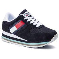 Sneakersy TOMMY JEANS - Retro Tommy Jeans Sneaker EN0EN00486 Midnight 403