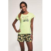 Bawełniana piżama damska Cornette 628/163 Avocado zielona