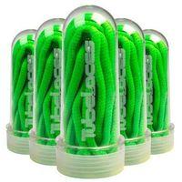 sznurówki TUBELACES - Pad neongreen (2087)