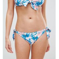vintage floral tie side bikini bottom - multi, Peek & beau