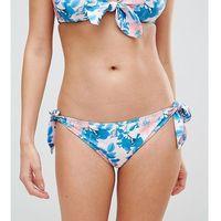 vintage floral tie side bikini bottom - multi, Peek & beau