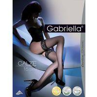 Pończochy emotion classic 200 calze 15 den rozmiar: 3/4-m/l, kolor: grafitowy, gabriella marki Gabriella