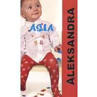 Rajstopy Aleksandra Asia 20 den 80/86, biały, Aleksandra, kolor biały