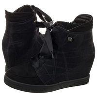 Sneakersy Sergio Leone Czarne SN0107-01X (SL190-a), SN0107-01X