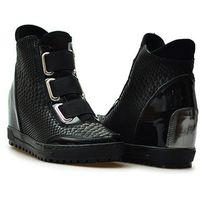 Sneakersy 610/py czarne lico, Kiera