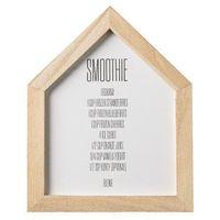 Bloomingville Plakat do kuchni smoothies przepis -