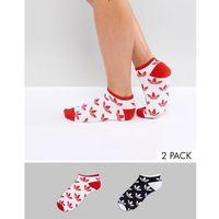 originals 2 pack logo socks - multi marki Adidas