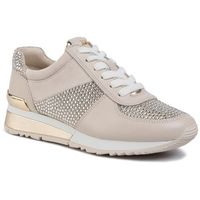 Sneakersy MICHAEL MICHAEL KORS - Allie Wrap Trainer 43R0ALFS2D Glitter, kolor beżowy