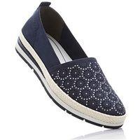 Buty wsuwane Marco Tozzi bonprix ciemnoniebieski, w 7 rozmiarach