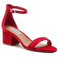 Sandały STEVE MADDEN - Irenee SM11000009-03002-605 Red Suede, kolor czerwony
