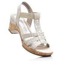 Sandały Marco Tozzi bonprix beżowy, 1 rozmiar