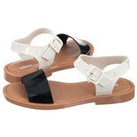 Sandały mar sandal ad 32337/52909 black/white/brown (ml86-b) marki Melissa