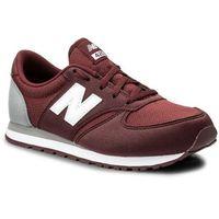 Sneakersy - kl420buy bordowy, New balance