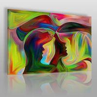 Vaku-dsgn Zjednoczenie dusz - nowoczesny obraz na płótnie