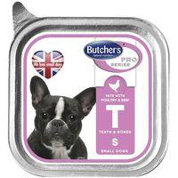 BUTCHER'S Pro Series Teeth&Bones z drobiem i wołowiną - tacka 150g (5011941898071)