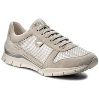 Geox Sneakersy - d sukie a d52f2a 021gn c1008 ivory