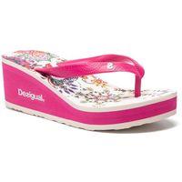 Japonki DESIGUAL - Shoes Lola Galactic 19SSHF18 3062, kolor różowy
