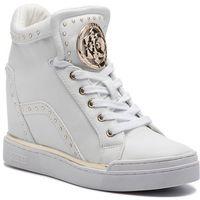 Sneakersy GUESS - FL5FR2 LEA12 WHITE, kolor biały