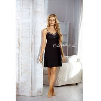 Koszula Nocna Model Heidi Black, kolor czarny
