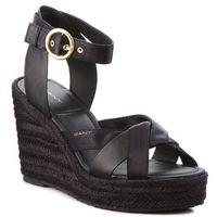 Espadryle GANT - Jenny 16568510 Black G00, kolor czarny