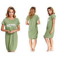 Koszula nocna karmen: zielony marki Dobranocka
