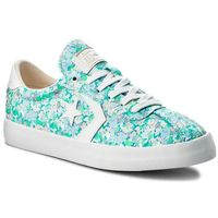 Sneakersy CONVERSE - Breakpoint Ox 555952C Fresh Cyan/Barely Orange/White, kolor niebieski