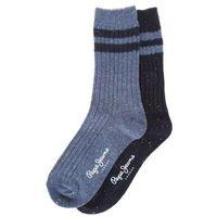 brianna set of 2 pairs of socks niebieski 37-41, Pepe jeans