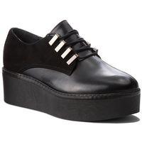 Półbuty WOJAS - 8527-71 Czarny, kolor czarny