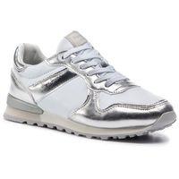 Sneakersy PEPE JEANS - Verona W Greek PLS30873 Silver 934, w 6 rozmiarach