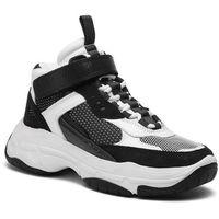 Sneakersy CALVIN KLEIN JEANS - Missie B4R0824 White/Black, w 7 rozmiarach
