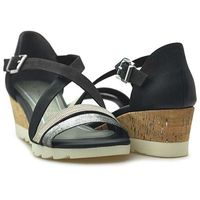 Sandały Marco Tozzi 2-28716-28 Czarne, kolor czarny