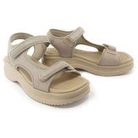 320 323 pearl, sandały damskie - szary, Azaleia