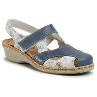 Sandały COMFORTABEL - 720144 Cobalt 5, kolor wielokolorowy