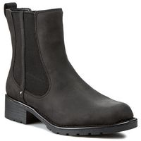 Sztyblety CLARKS - Orinoco Club 203409184 Black Leather, 35.5-42