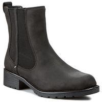 Sztyblety CLARKS - Orinoco Club 203409184 Black Leather, sztyblety