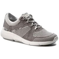 Sneakersy MICHAEL MICHAEL KORS - Skyler Trainer 43S7SKFS1M Silv/Op Wht, kolor szary