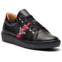Sneakersy R.POLAŃSKI - 0961 Czarny Lico