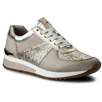 Sneakersy MICHAEL KORS - Allie Trainer 43S8ALFS1D Silver/Gold, kolor wielokolorowy