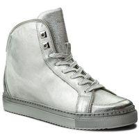 Sneakersy BADURA - 6337-69 Srebrny, kolor szary