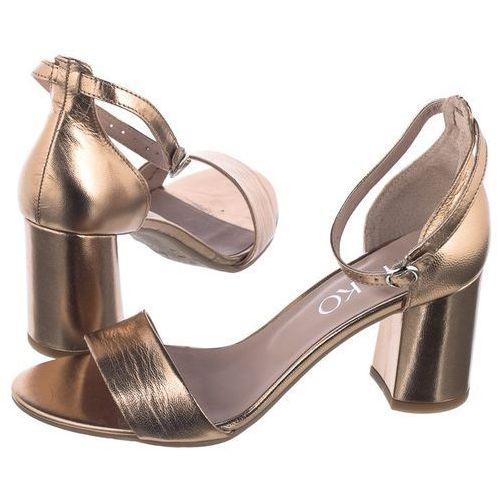 Sandały złote 7nbd3_t3 __s1 (ry59-a) marki Ryłko