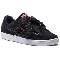 Sneakersy PUMA - Suede Heart Street 2 Wn's 366780 01 Puma Black/Puma Black