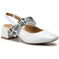 Sandały KAZAR - Cherry 38584-01-01 White, kolor biały