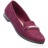 Buty wsuwane bonprix oberżyna, kolor fioletowy
